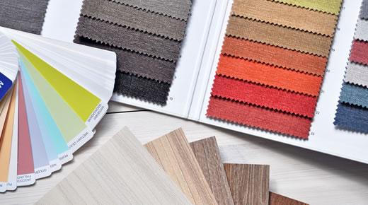 Servizio di scelta di finiture, materiali, colori