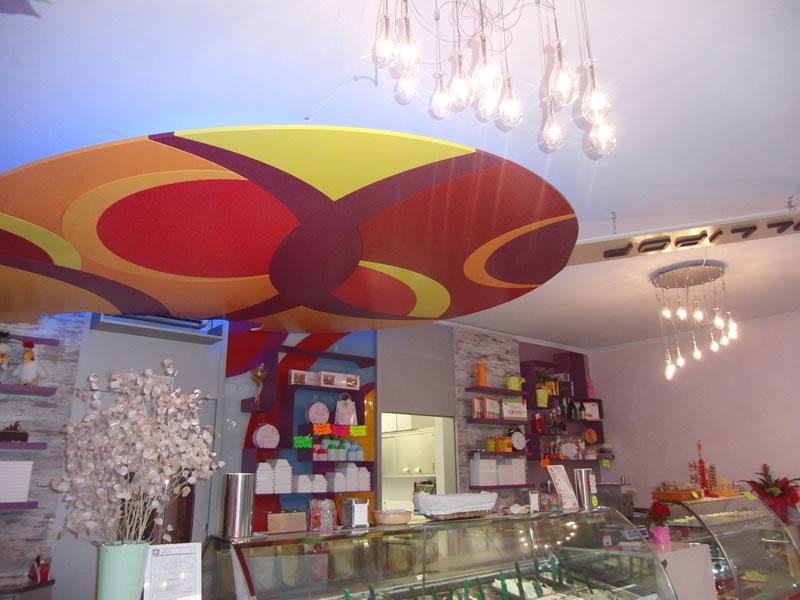 Foto interni rinnovati presso la Gelateria Lollipop a Pontoglio, Brescia