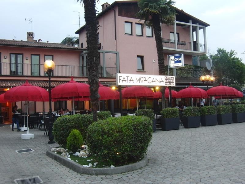 Foto della visuale esterna del Ristorante Pizzeria Fata Morgana a Trescore Balneario, Bergamo