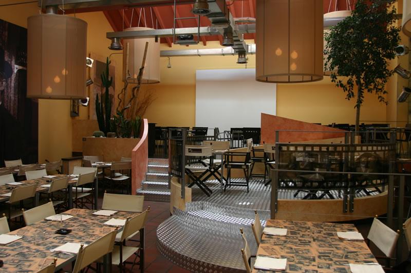 Foto della sala da pranzo del Ristorante Cinecittà, presso Monza, Milano