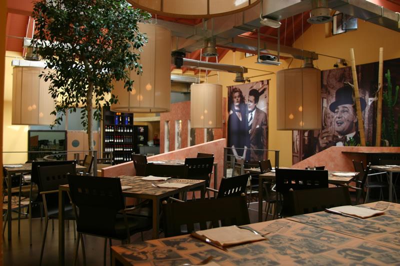 Foto degli interni presenti al Ristorante Cinecittà, presso Monza, Milano