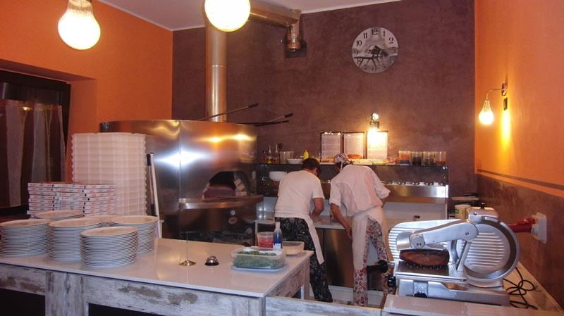 Foto angolo pizzeria scattata al Ristorante Pizzeria Fata Morgana a Trescore Balneario, Bergamo