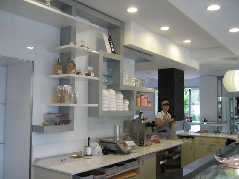 Foto del retrobanco della Pasticceria Panificio Caffetteria La Meta a Lazzate, Monza Brianza