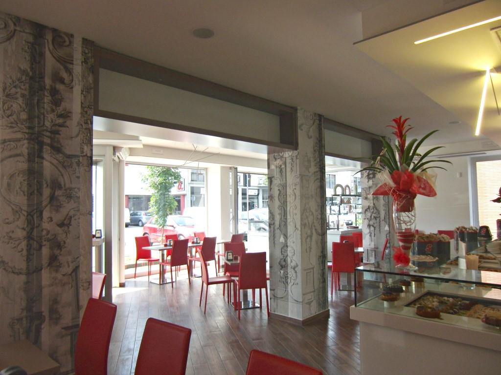 Foto con vista sull'ingresso scattata alla Caffetteria Panificio Good Morning a Lissone, Brescia