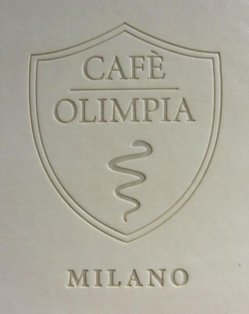 Particolare dei banconi ed arredamento interno del Wine Bar Cocktails, Cafè Olimpia a Milano
