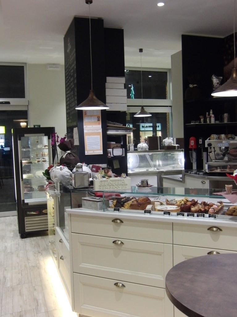 Foto scattata all'interno della Gelateria Caffetteria Rembrandt a Milano