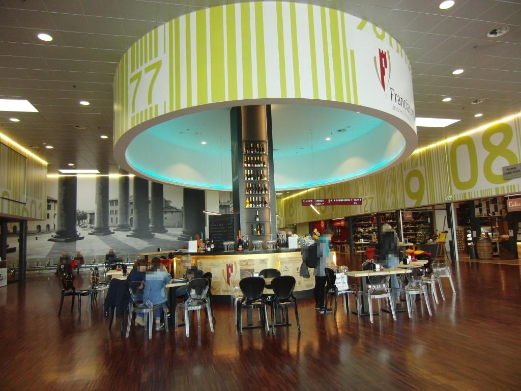 Foto scattata al Ristorante Wine Gate 11 presso l'Aeroporto di Orio al Serio