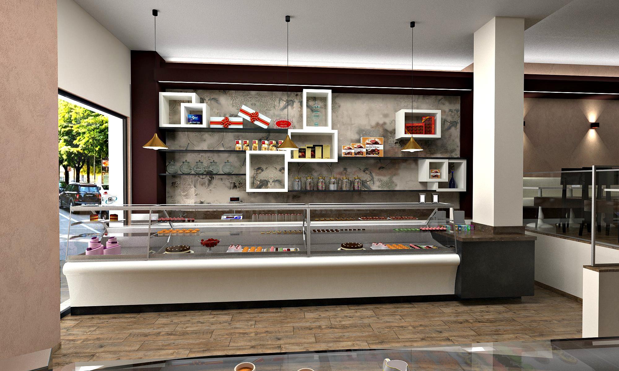 Immagine di una proposta per il banco pasticceria, presso la Pasticceria Caffetteria i 4 Mastri a Milano