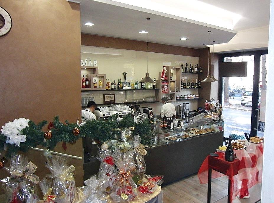 Foto scattata alla Pasticceria Caffetteria i 4 Mastri a Milano durante il periodo di Natale 2016