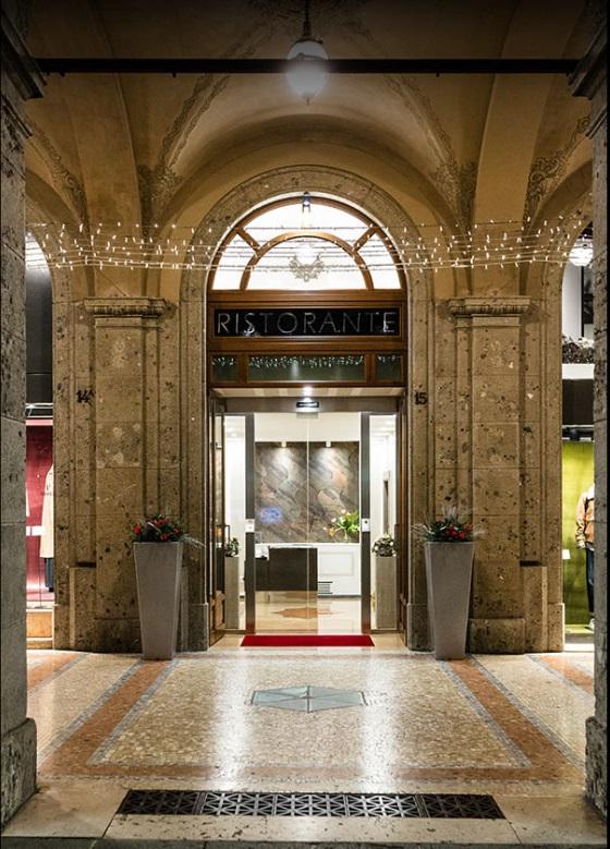 Foto dell'ingresso principale del Ristorante Ezio Gritti di Bergamo